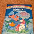 "My Little Pony G1 Book ""Baby Firefly's Adventure"""