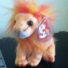 TY Beanie Baby Bushy Lion