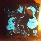 My Little Pony Blue and Black Collector Art Pony