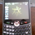 Blackberry Curve 8330 Sprint Silver
