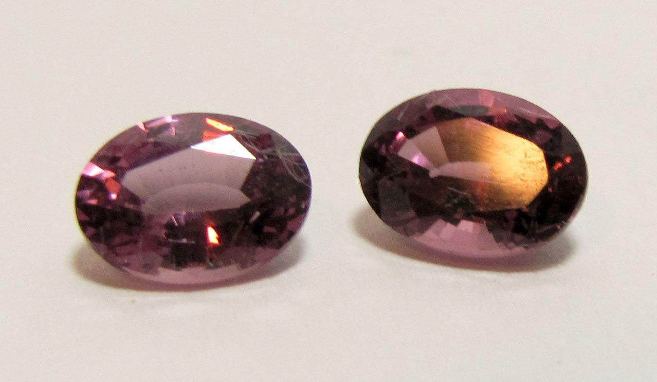 Rhodolite Garnet 5 x 7 mm Matching Pair Loose Gemstone