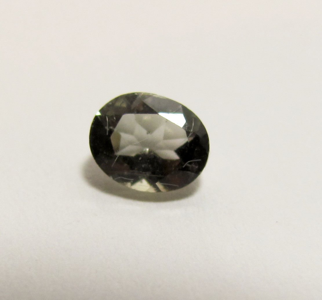 Green Sapphire .5ct. Oval Loose Faceted Gemstone
