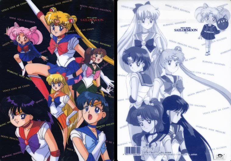 SM#25 Sailor Moon group shitajiki