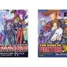 KING OF FIGHTERS DOUJINSHI / 2 manga lot / K', Kula, all character