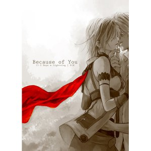 FINAL FANTASY XIII 13 DOUJINSHI / Because of You / Hope x Lightning