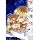 FATE ZERO STAY NIGHT DOUJINSHI / Night Flight Escape / Gilgamesh x Saber