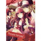 POKEMON DOUJINSHI / Present for you! / N x Touko White Hilda RARE