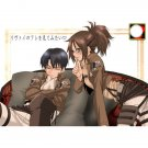 ATTACK ON TITAN DOUJINSHI / Rivu~ai no Are o mite mitai / Levi x Hanji Levihan