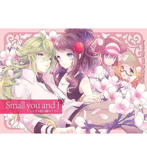 POKEMON DOUJINSHI / Small you and I / N x Touko White Hilda RARE