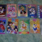 {9 CARD LOT} SAILOR MOON official prism card lot