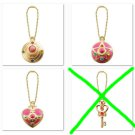 {3 KEYCHAIN LOT} SAILOR MOON die cast charms