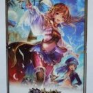 Rage of Bahamut Captain Lecia A2 clear poster SEALED