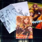 TALES OF ABYSS DOUJINSHI / 4 book lot / Guy x Tear RARE!