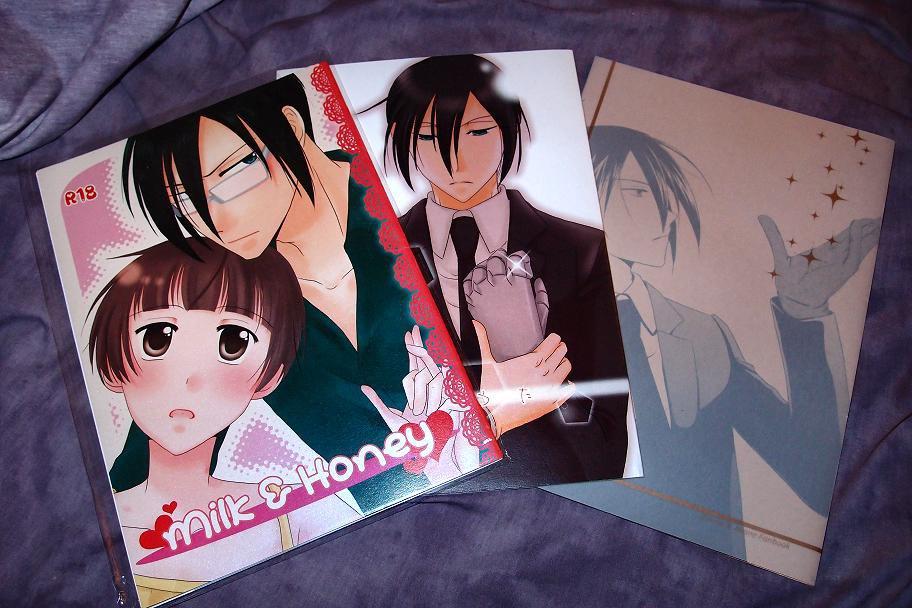 PSYCHO PASS DOUJINSHI / 3 book lot / Ginoza x Akane