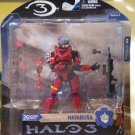 2008 McFarlane Halo 3 Series 3 Spartan Soldier Hayabusa Red