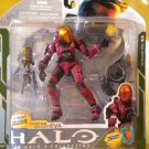 2009 McFarlane Halo 3 Series 5 Spartan Soldier EVA Crimson Diamond Exclusive