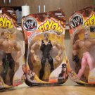 WWE Flex&#39;ems Lot Series 14 Undertaker Rey Mysterio and Shawn Michaels NEW