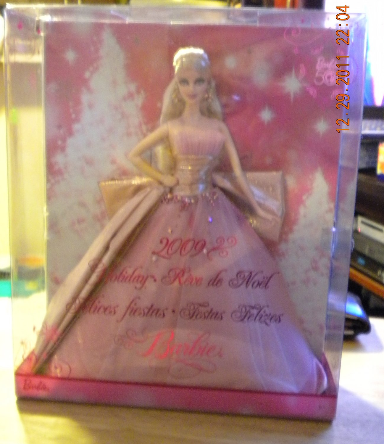 2009 Holiday Barbie Doll 50th Anniversary Collector ...