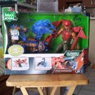 Mattel Max Steel Turbo Missions Claw Strike Max vs Double Danger Extroyer Figures New Rare VHTF