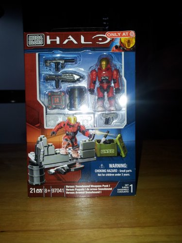 Halo Mega Bloks Versus: Snowbound Weapons Pack 1 Target Exclusive