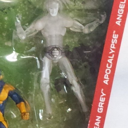 """Marvel Universe Age of Apocalypse Iceman 3.75"""" Loose Figure from X-Men Collector's Pack TRU"""