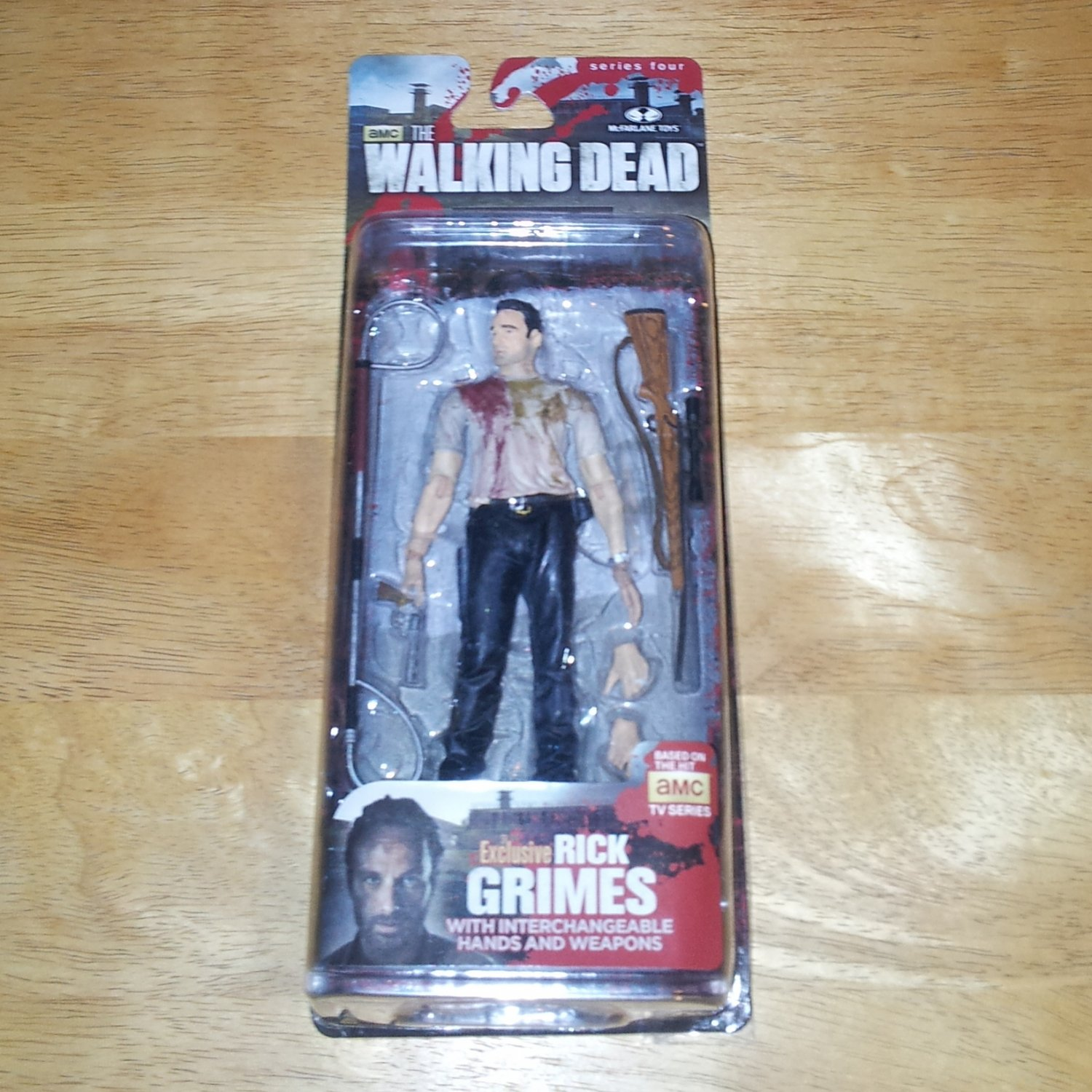 Rick Grimes The Walking Dead Series 4 Exclusive