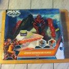Mattel Max Steel Espada de Fuego (Fire Sword) Dredd New Series International Release