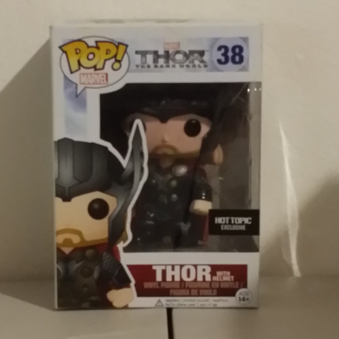 Funko POP! Thor with Helmet from Thor The Dark World