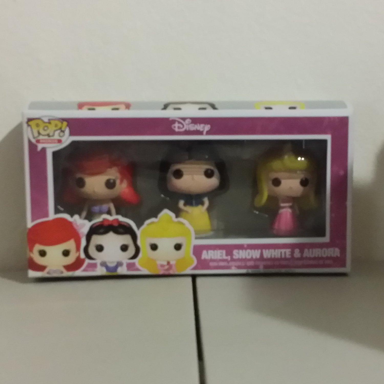 Funko POP! Minis Ariel, Snow White, and Aurora