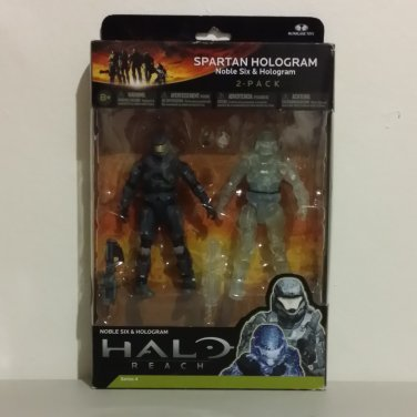 2011 McFarlane Halo Reach Series 4 Noble Six and Hologram Pack