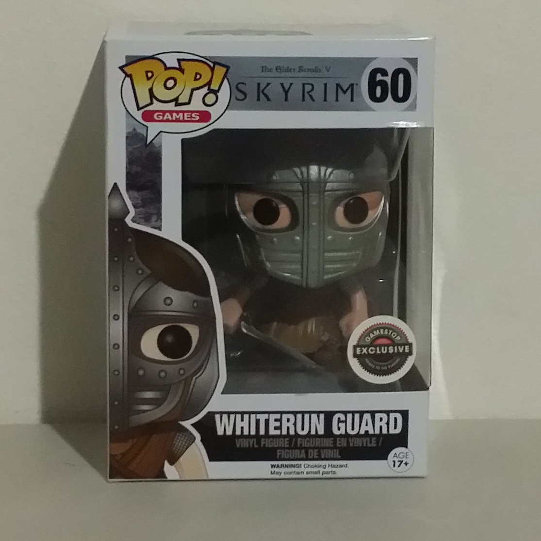 Funko Pop Games Whiterun Guard Arrow In The Knee From