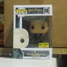 Funko POP! Harry Potter Draco Malfoy #19 Hot Topic Exclusive With Protector