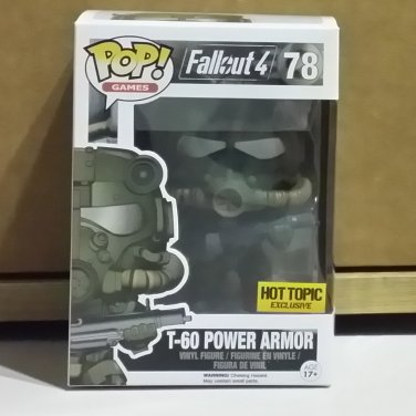 Funko POP! Games T-60 Power Armor Fallout 4 Hot Topic Exclusive