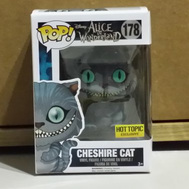 Funko POP! Disney Cheshire Cat #178 Movie Flocked Hot Topic Exclusive