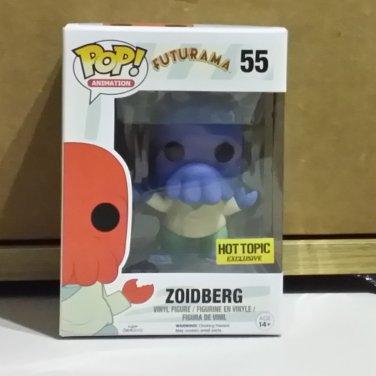 Funko POP! Animation Zoidberg (Alternate Universe) from Futurama Hot Topic Exclusive