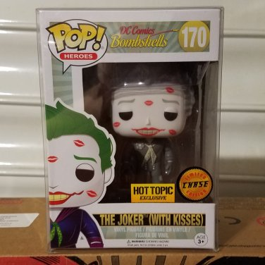 Funko POP! Heroes The Joker (With Kisses) CHASE