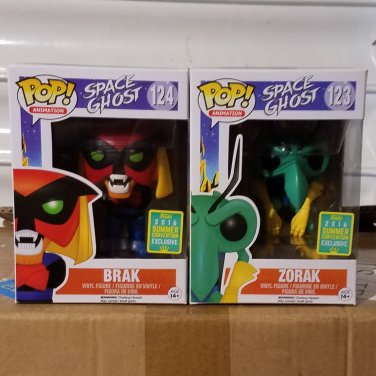 Funko POP! Animation Brak and Zorak 2016 Summer Convention Exclusives Set