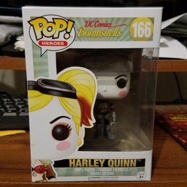 Funko POP! Heroes Harley Quinn Bombshells Black & White ThinkGeek No Sticker