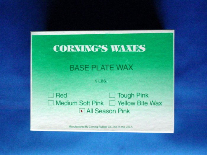 2030 All Season Wax Pink Corning 5lb.