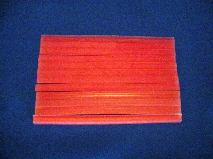 2510 Red Square Rope Wax 1lb.