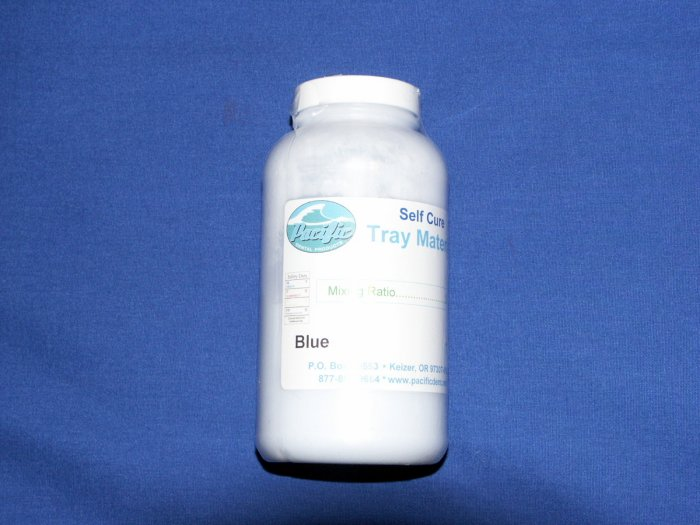1-1700 Tray Material Blue 1 lb.