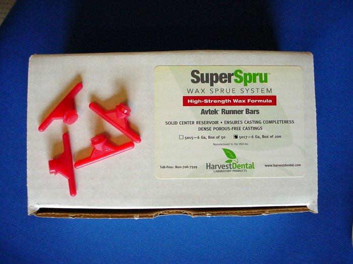 2342 Sprue Runner Bar 8 ga Avtek 200/pkg