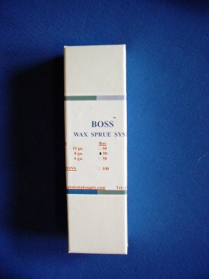 2346 Wax Rods 8 ga 50/box