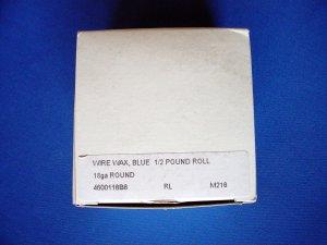 2503 Wire Wax Spool 18 ga 1/2 lb.