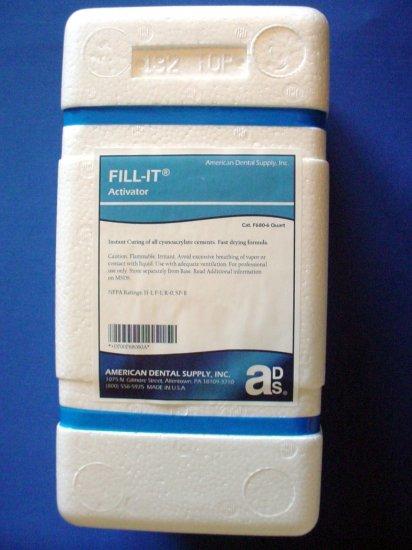 3007 Fill It Activator American Dental Supply 1 qt.