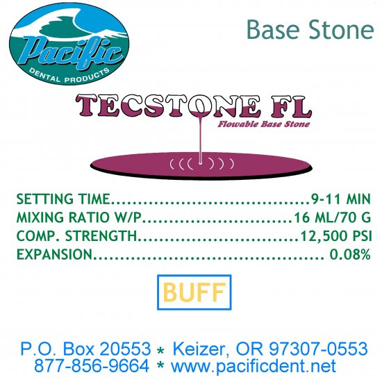 ON SALE!!! 1100 Pacific Flowable Base Stone Buff 25 lb.