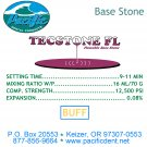 1100 Pacific Tecstone Fl Base Stone Buff 25 lb.
