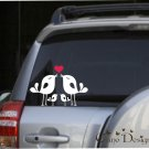 Lovely Bird Family, Car Vinyl decals stickers, window decals stickers
