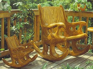 Rocking Chair Plans | Wooden Rocking Chair Plan