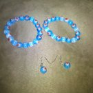 Flowers in the Sky Bracelet and Earring Set